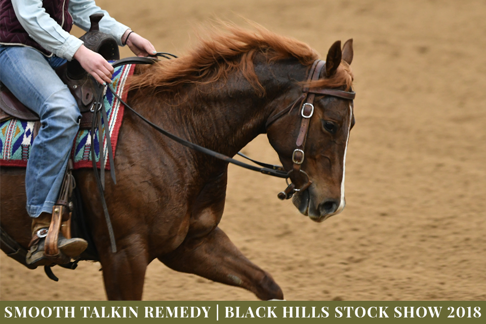 Smooth Talkin Remedy | 2013 Chestnut Mare